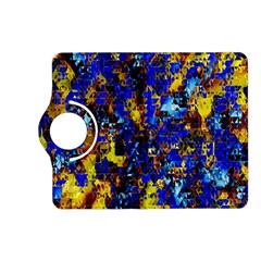Network Blue Color Abstraction Kindle Fire HD (2013) Flip 360 Case