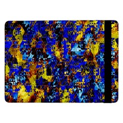 Network Blue Color Abstraction Samsung Galaxy Tab Pro 12.2  Flip Case