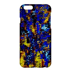 Network Blue Color Abstraction Apple iPhone 6 Plus/6S Plus Hardshell Case