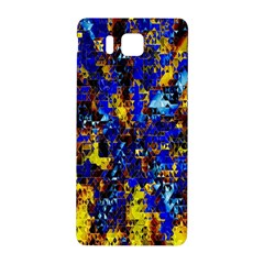 Network Blue Color Abstraction Samsung Galaxy Alpha Hardshell Back Case