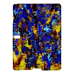 Network Blue Color Abstraction Samsung Galaxy Tab S (10.5 ) Hardshell Case