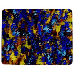 Network Blue Color Abstraction Jigsaw Puzzle Photo Stand (Rectangular)