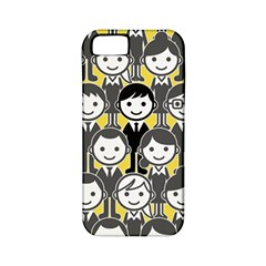 Man Girl Face Standing Apple iPhone 5 Classic Hardshell Case (PC+Silicone)