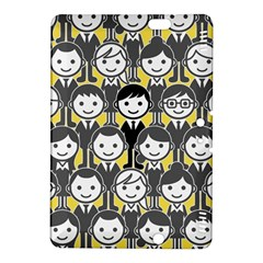 Man Girl Face Standing Kindle Fire HDX 8.9  Hardshell Case