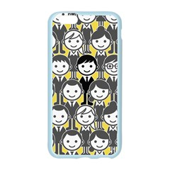 Man Girl Face Standing Apple Seamless iPhone 6/6S Case (Color)