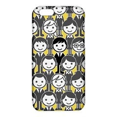 Man Girl Face Standing iPhone 6/6S TPU Case
