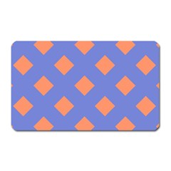 Orange Blue Magnet (Rectangular)