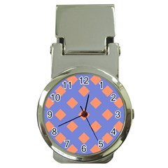 Orange Blue Money Clip Watches