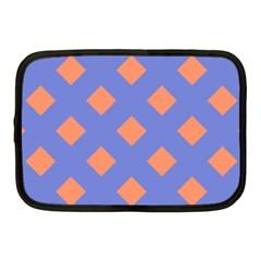 Orange Blue Netbook Case (Medium)