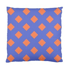 Orange Blue Standard Cushion Case (Two Sides)