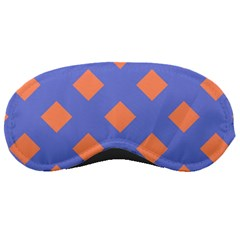 Orange Blue Sleeping Masks