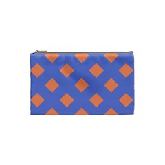 Orange Blue Cosmetic Bag (Small)