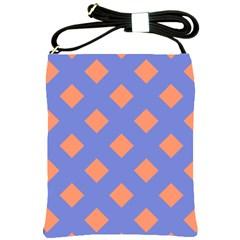 Orange Blue Shoulder Sling Bags