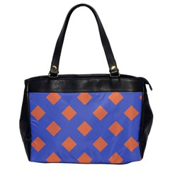 Orange Blue Office Handbags