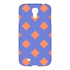 Orange Blue Samsung Galaxy S4 I9500/I9505 Hardshell Case
