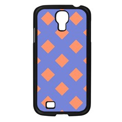 Orange Blue Samsung Galaxy S4 I9500/ I9505 Case (Black)