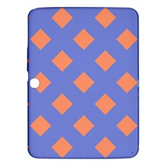 Orange Blue Samsung Galaxy Tab 3 (10.1 ) P5200 Hardshell Case