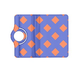 Orange Blue Kindle Fire HD (2013) Flip 360 Case