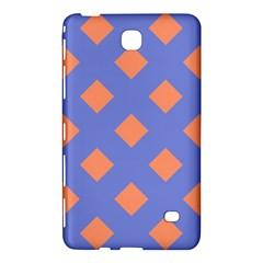 Orange Blue Samsung Galaxy Tab 4 (8 ) Hardshell Case