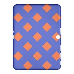Orange Blue Samsung Galaxy Tab 4 (10.1 ) Hardshell Case