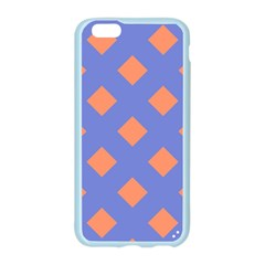 Orange Blue Apple Seamless iPhone 6/6S Case (Color)