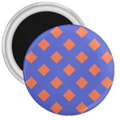 Orange Blue 3  Magnets