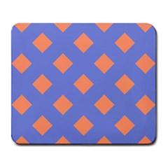 Orange Blue Large Mousepads