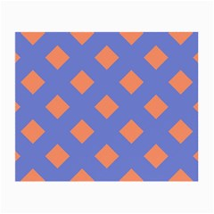 Orange Blue Small Glasses Cloth