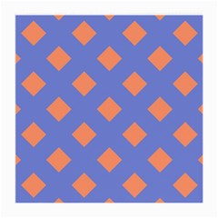 Orange Blue Medium Glasses Cloth (2-Side)