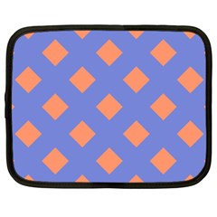 Orange Blue Netbook Case (XXL)