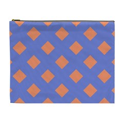 Orange Blue Cosmetic Bag (XL)