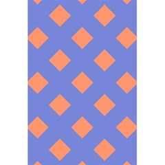 Orange Blue 5.5  x 8.5  Notebooks