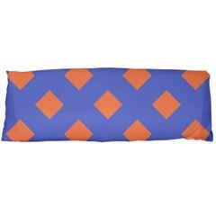 Orange Blue Body Pillow Case (Dakimakura)