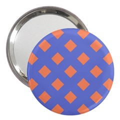 Orange Blue 3  Handbag Mirrors