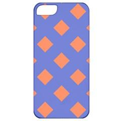 Orange Blue Apple iPhone 5 Classic Hardshell Case