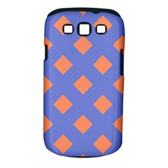 Orange Blue Samsung Galaxy S III Classic Hardshell Case (PC+Silicone)