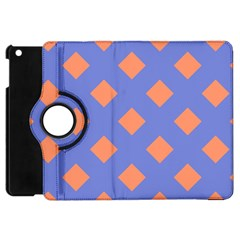 Orange Blue Apple iPad Mini Flip 360 Case