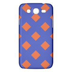 Orange Blue Samsung Galaxy Mega 5.8 I9152 Hardshell Case