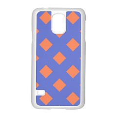 Orange Blue Samsung Galaxy S5 Case (White)