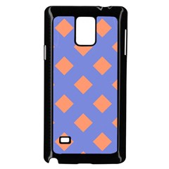 Orange Blue Samsung Galaxy Note 4 Case (Black)