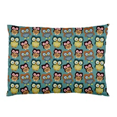 Owl Eye Blue Bird Copy Pillow Case