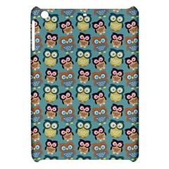 Owl Eye Blue Bird Copy Apple iPad Mini Hardshell Case