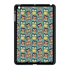 Owl Eye Blue Bird Copy Apple iPad Mini Case (Black)