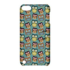 Owl Eye Blue Bird Copy Apple iPod Touch 5 Hardshell Case with Stand
