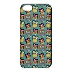 Owl Eye Blue Bird Copy Apple iPhone 5C Hardshell Case
