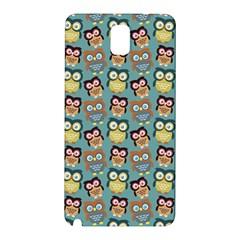 Owl Eye Blue Bird Copy Samsung Galaxy Note 3 N9005 Hardshell Back Case