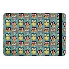 Owl Eye Blue Bird Copy Samsung Galaxy Tab Pro 10.1  Flip Case