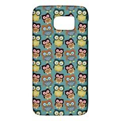 Owl Eye Blue Bird Copy Galaxy S6