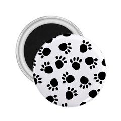 Paws Black Animals 2.25  Magnets