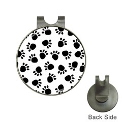 Paws Black Animals Hat Clips with Golf Markers